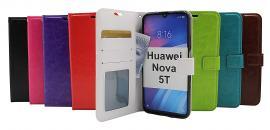 Crazy Horse Wallet Huawei Nova 5T