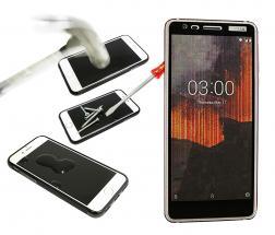 Full Frame Skjermbeskyttelse av glass Nokia 3.1 (2018)