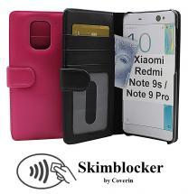 Skimblocker Lommebok-etui Xiaomi Redmi Note 9s / Note 9 Pro