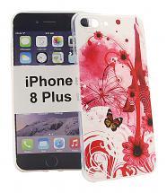 TPU Designdeksel iPhone 8 Plus