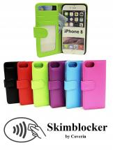 Skimblocker Lommebok-etui iPhone 8