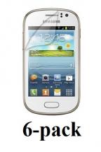 6-pakning Skjermbeskyttelse Samsung Galaxy Fame