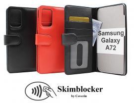 Skimblocker Lommebok-etui Samsung Galaxy A72 (A725F/DS)