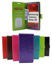 Crazy Horse Wallet Samsung Galaxy Note 20 5G (N981B/DS)