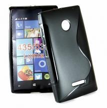 S-Line Deksel för Microsoft Lumia 532/435