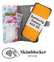 Skimblocker Magnet Designwallet Samsung Galaxy A22 5G (SM-A226B)