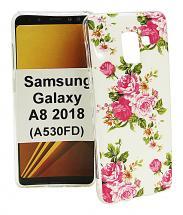 TPU Designdeksel Samsung Galaxy A8 2018 (A530FD)