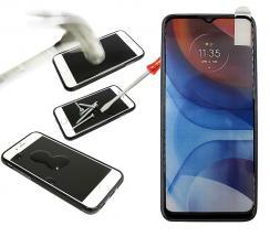 Full Frame Skjermbeskyttelse av glass Motorola Moto E7i Power
