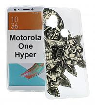 TPU Designdeksel Motorola One Hyper