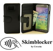Skimblocker Lommebok-etui Samsung Galaxy Alpha (G850F)