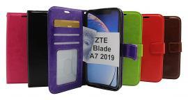 Crazy Horse Wallet ZTE Blade A7 2019