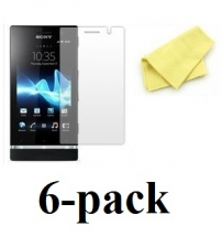 6-pakning Skjermbeskyttelse LG Optimus L7 (P700)