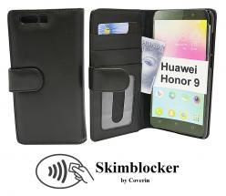 Skimblocker Lommebok-etui Huawei Honor 9 (STF-L09)