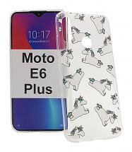 TPU Designdeksel Motorola Moto E6 Plus