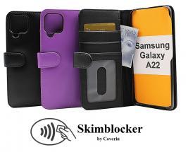 Skimblocker Lommebok-etui Samsung Galaxy A22 (SM-A225F/DS)