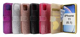 Standcase Glitter Wallet iPhone 11 (6.1)