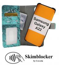 Skimblocker Magnet Designwallet Samsung Galaxy A22 (SM-A225F/DS)