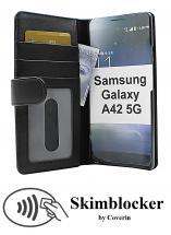 Skimblocker Lommebok-etui Samsung Galaxy A42 5G