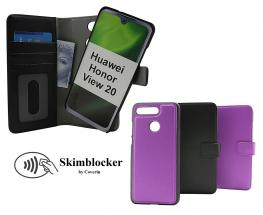 Skimblocker Magnet Wallet Huawei Honor View 20