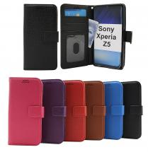 New Standcase Wallet Sony Xperia Z5 (E6653)