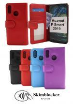 Skimblocker Lommebok-etui Huawei P Smart 2019