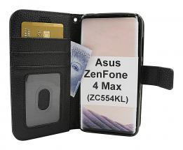 New Standcase Wallet Asus ZenFone 4 Max (ZC554KL)