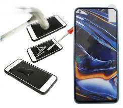 Full Frame Skjermbeskyttelse av glass Realme 7 Pro