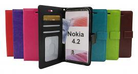Crazy Horse Wallet Nokia 4.2