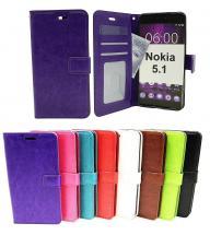 Crazy Horse Wallet Nokia 5.1