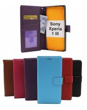 New Standcase Wallet Sony Xperia 1 III (XQ-BC52)