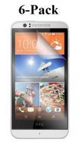 6-pakning Skjermbeskyttelse HTC Desire 510