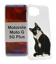 TPU Designdeksel Motorola Moto G 5G Plus