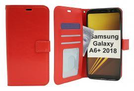 Crazy Horse Wallet Samsung Galaxy A6+ / A6 Plus 2018 (A605FN/DS)