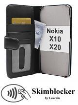 Skimblocker Lommebok-etui Nokia X10 / Nokia X20