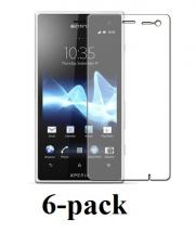 Sony Xperia Acro S Skærmbeskyttelse (6 stk.)