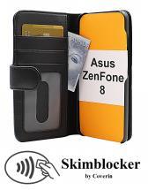 Skimblocker Lommebok-etui Asus ZenFone 8 (ZS590KS)