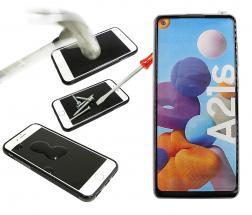 Full Frame Skjermbeskyttelse av glass Samsung Galaxy A21s (A217F/DS)