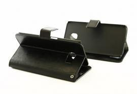 Crazy Horse wallet Samsung Galaxy S6 Edge (G925F) Svart