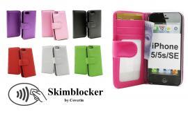 Skimblocker Lommebok-etui iPhone 5/5s/SE