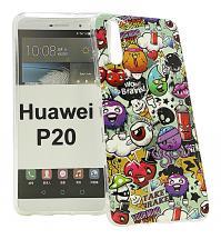 TPU Designdeksel Huawei P20