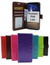 Crazy Horse Wallet Huawei P40 Lite