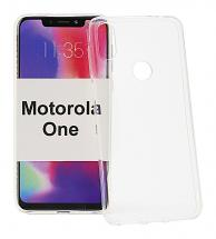 Ultra Thin TPU Deksel Motorola One