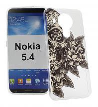 TPU Designdeksel Nokia 5.4