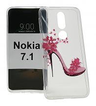 TPU Designdeksel Nokia 7.1