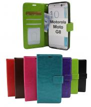 Crazy Horse Wallet Motorola Moto G8