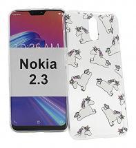 TPU Designdeksel Nokia 2.3