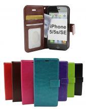 Crazy Horse wallet iPhone 5/5s/SE