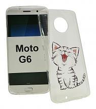 TPU Designdeksel Motorola Moto G6