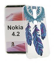 TPU Designdeksel Nokia 4.2