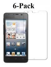 6-pakning Skjermbeskyttelse Huawei Ascend G510